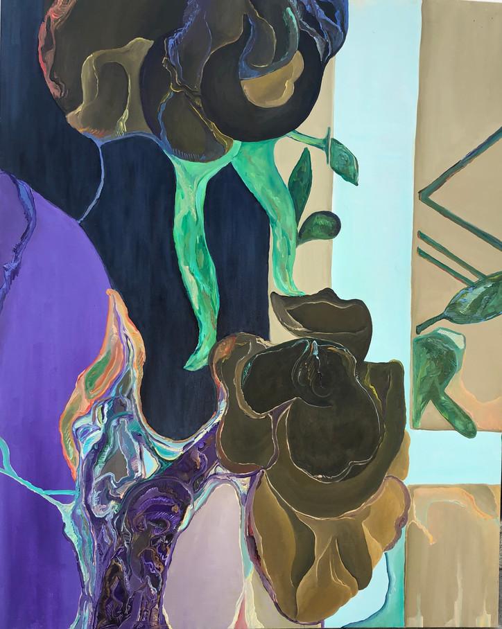 Janela I, óleo sobre tela