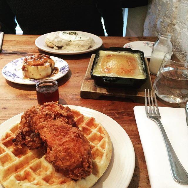 Because sometimes we just need Southern food for breakfast