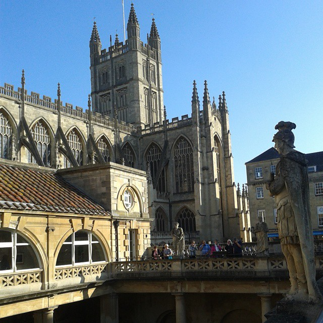 Anyone for a dip in the baths at Bath_