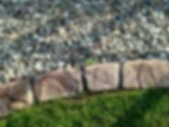 artisan borders unita slate landscape curbing