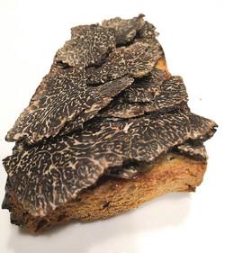 Truffes en tartine