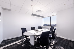white modern conference room