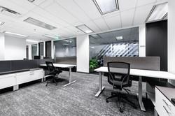 open area workstations