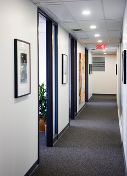 office corridor design art