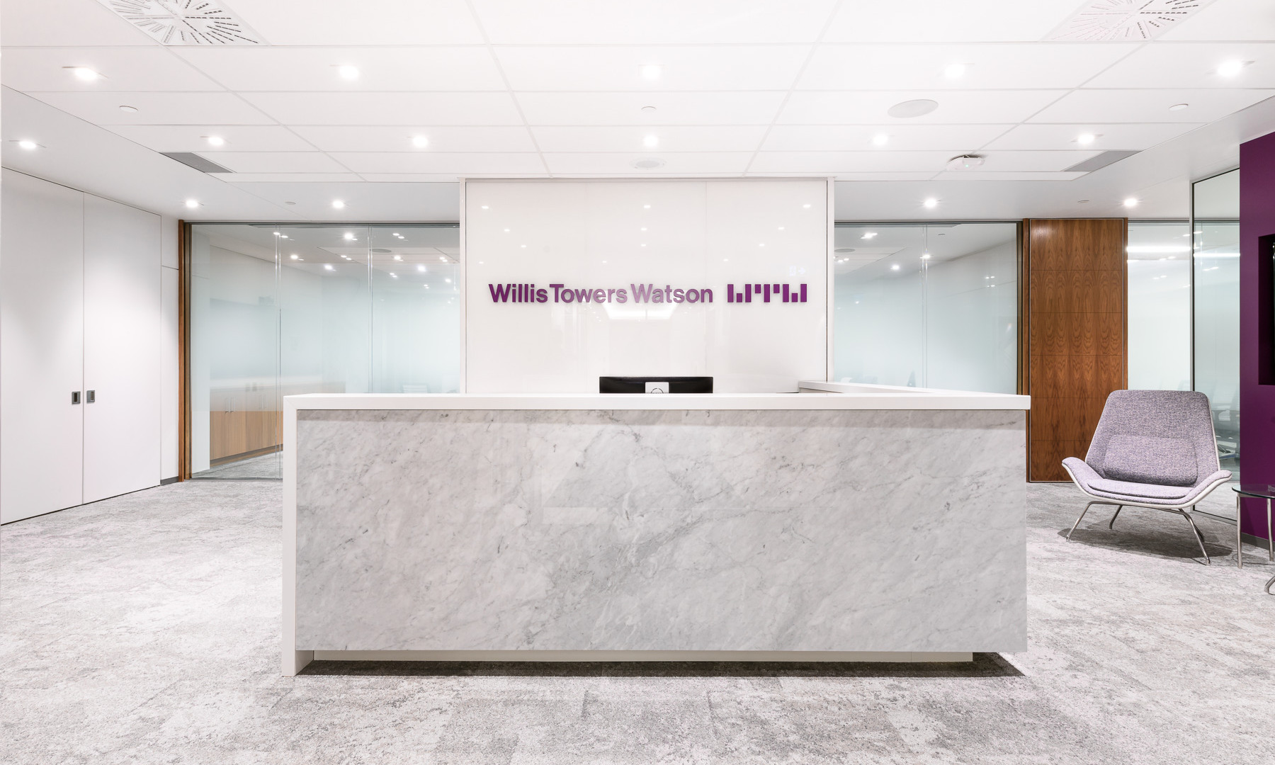 Willis Towers Watson reception desk