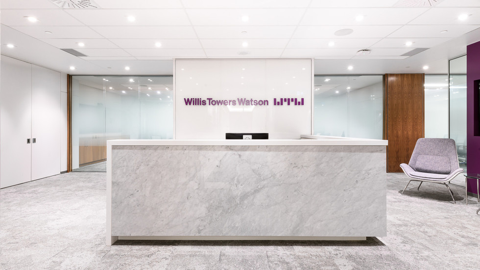 Willis Towers Watson reception desk
