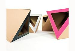 Cardboard cat house colors