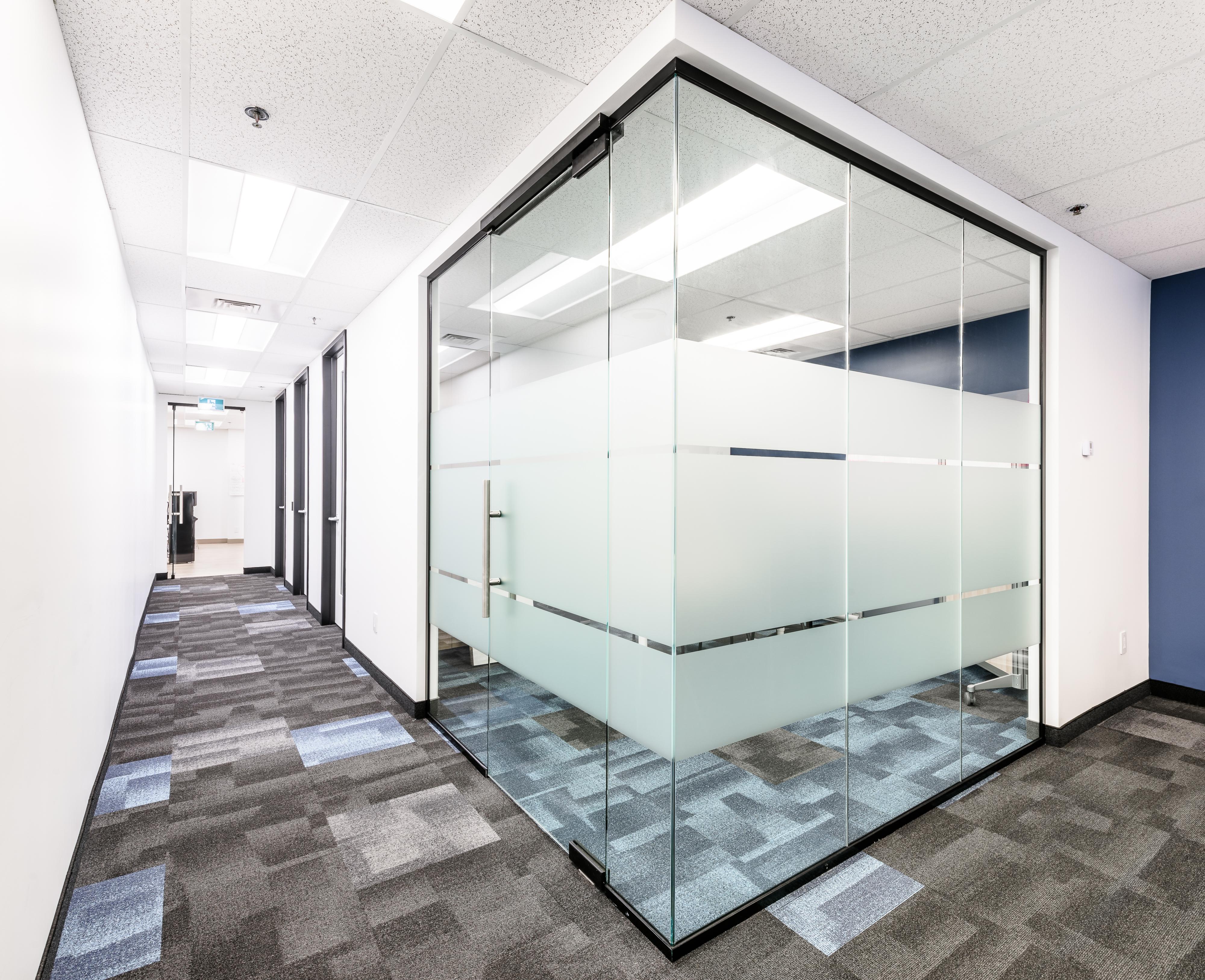 salle de conference vitrée