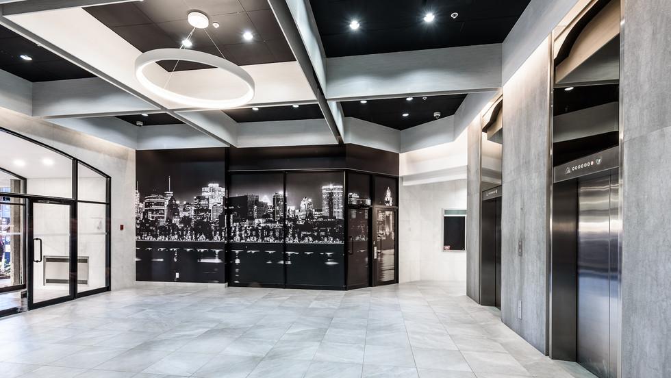 modern office reception