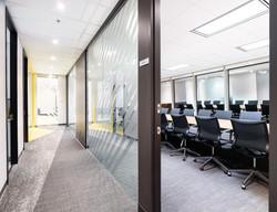 glazed conference room