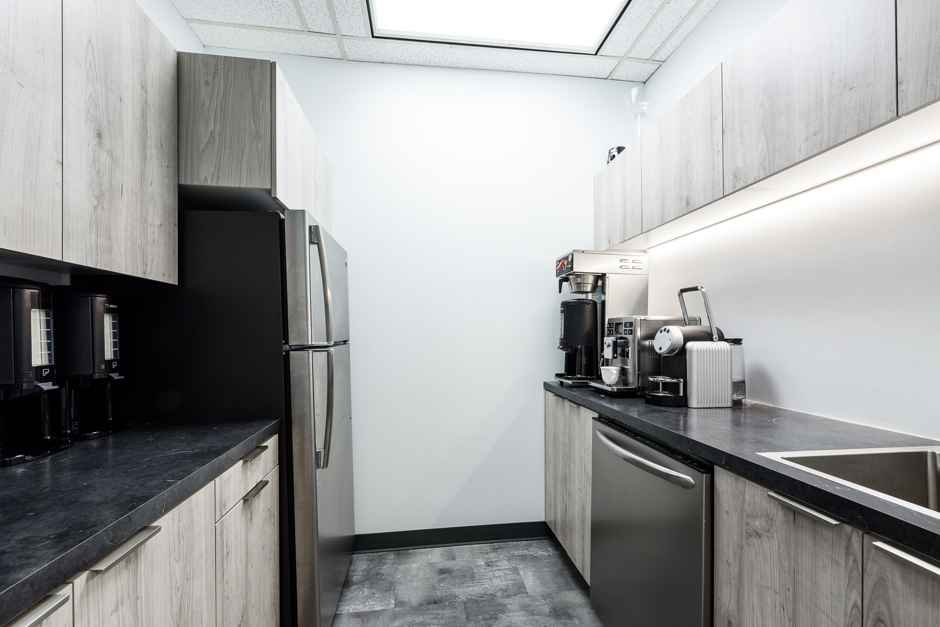 corporate kitchenette