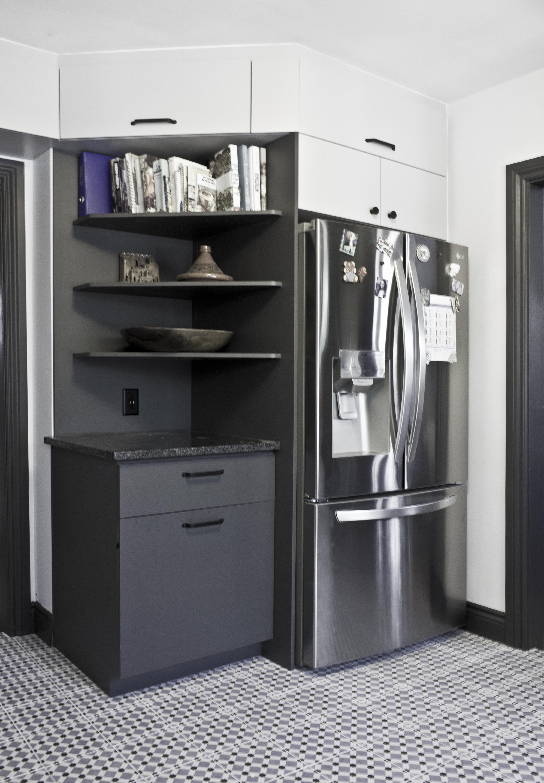 kitchen shelving storage