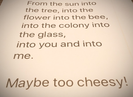 Cheesy Bee Poem for the New Decade :)