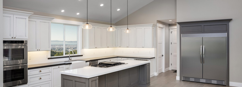 Contemporary White & Grey Kitchen Remodeling!