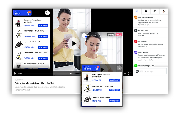 New opportunities for online retailers: Streams.Live, the first Live Stream Shopping solution in Romania, announces the integration with Shopify