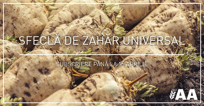 Agra Asigurari lanseaza polita Sfecla de Zahar Universal, subventionabila de AFIR prin Submasura 17.1