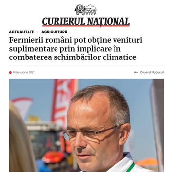 Arnaud Perrein - Curierul National