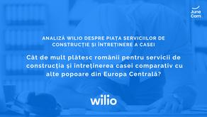 Studiu: Cât de mult plătesc românii pentru servicii de construcția și întreținerea casei