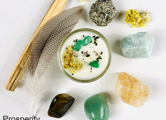 GoldWitch Crystal Set for Prosperity & Wealth