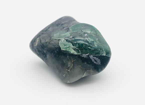 """Tumbled Emerald / Large 1.25"""", 33g"""