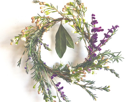 Winter Wreath Protection Spell