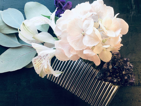 Enchanted Floral Hair Combs