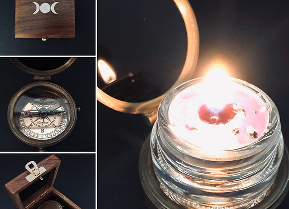 Scrying Mirror & Compass