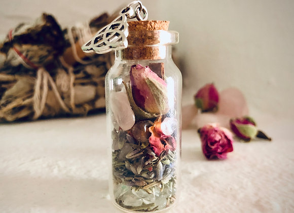 LoveWitch Rose Spell Pendant
