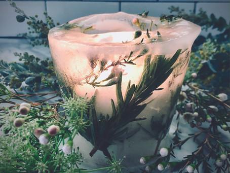 Imbolc Ice Candle