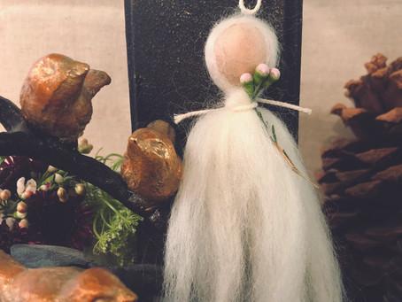 Wool Brigid Doll