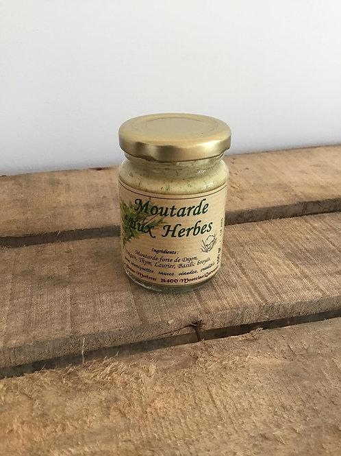 Moutarde aux Herbes 100g La Petite Merlette