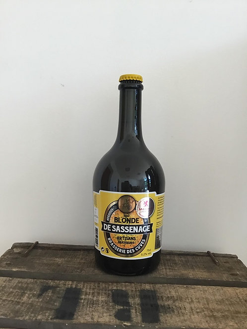 BLONDE de SASSENAGE 75cl Brasserie des Cuves