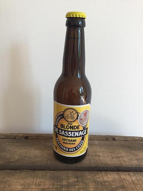 Bière Blonde Sassenage 33cl Brasserie des Cuves