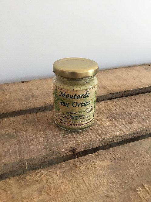 Moutarde aux Orties 100g La Petite Merlette