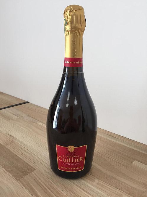 Champagne Cuillier Cuvée Rouge Grande Réserve-Brut