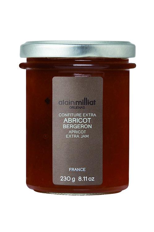 Confiture Extra Abricot Bergeron 230g Alain Milliat (Sur commande)