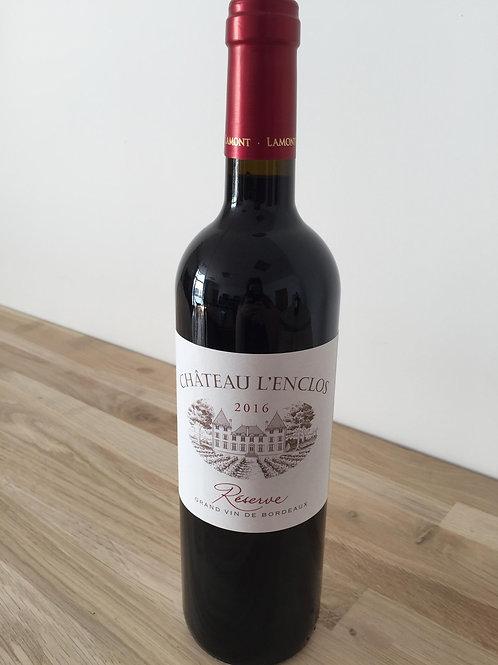 """Bordeaux Château de l'enclos """"Réserve""""2016 Lamont"""