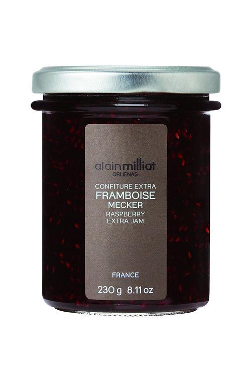 Confiture Extra Framboise Mecker 230g Alain Milliat