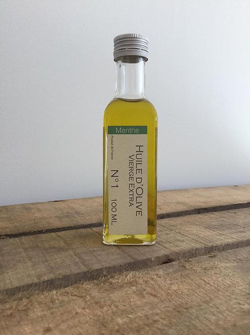 Huile d'Olive aromatisée Menthe 100ml Domaine de l'Arbre Blanc