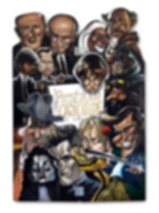 Panneau du Stand de Caricature - Prestation Caricature