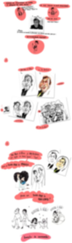 Commande de Caricatures en Lignes, Prestation Caricature, Animation Caricature, Caricaturez-vous ! Charlotte Barbin Caricaturiste et Artiste pour vous servir ! Ma Caricaturesur Internet !