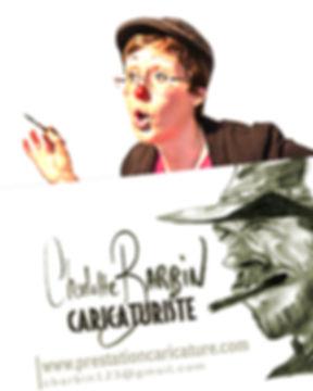 caricaturiste animation prestation caricature charlotte barbin