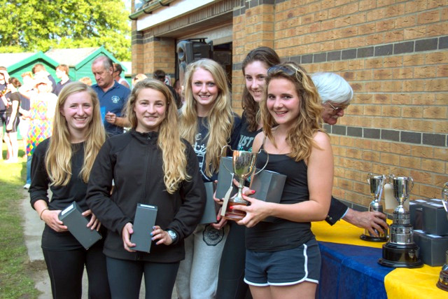 Christchurch Rowing Club Winners at Ryde Regatta