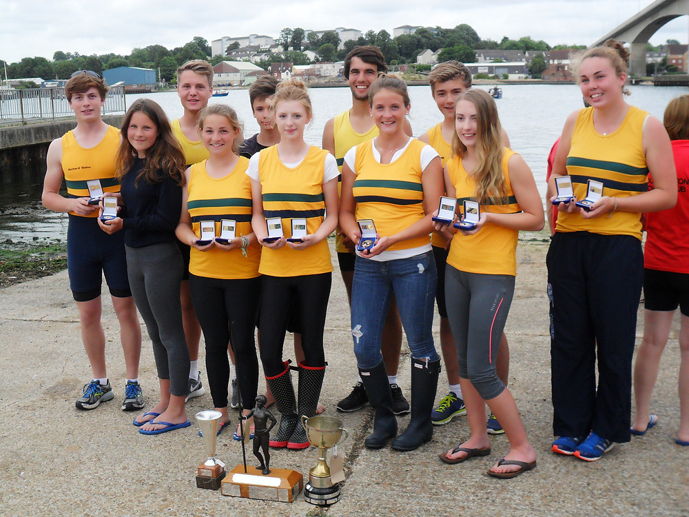Chriatchurch Rowing club Winners at Itchen Regatta 2014