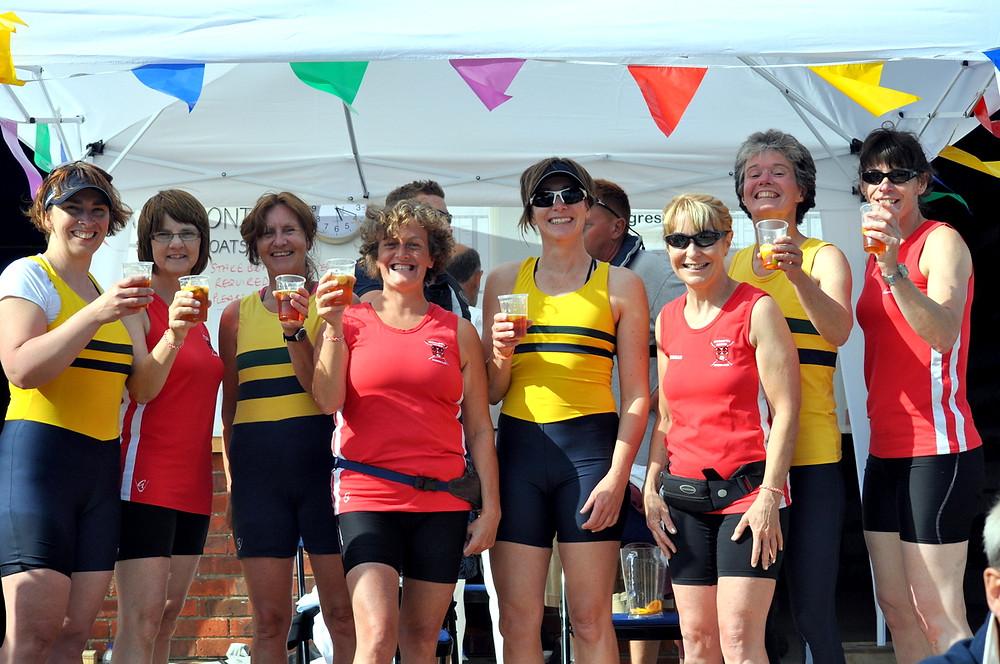 Christchurch Rowing Club winners at Christchurch Regatta 2014