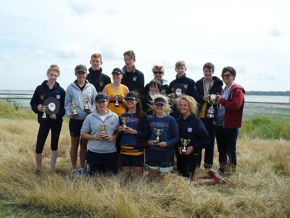 Christchurch Rowing Club Winners at BTC Regatta 2014