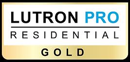 Lutron Pro Residential Gold logo