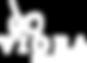 Viora logo with tagline White on transpa