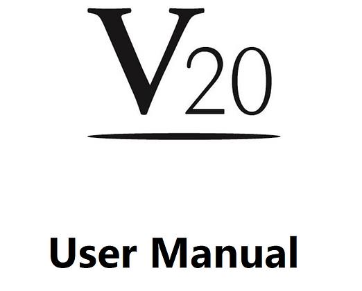 V20 User Manual