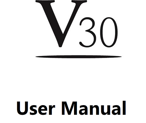 V30 User Manual